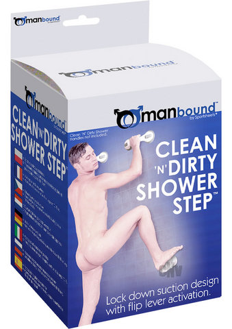 Clean N Dirty Shower Step