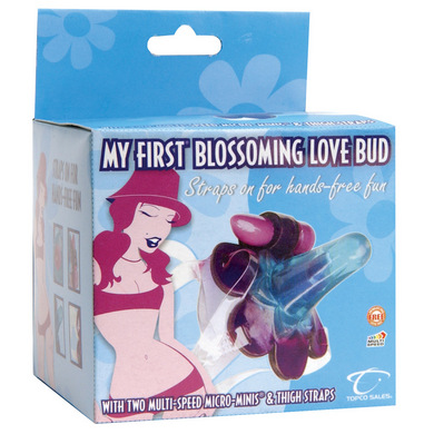 Topco Sales My First Blossoming Love Bud Strap-On Venus Vibrator